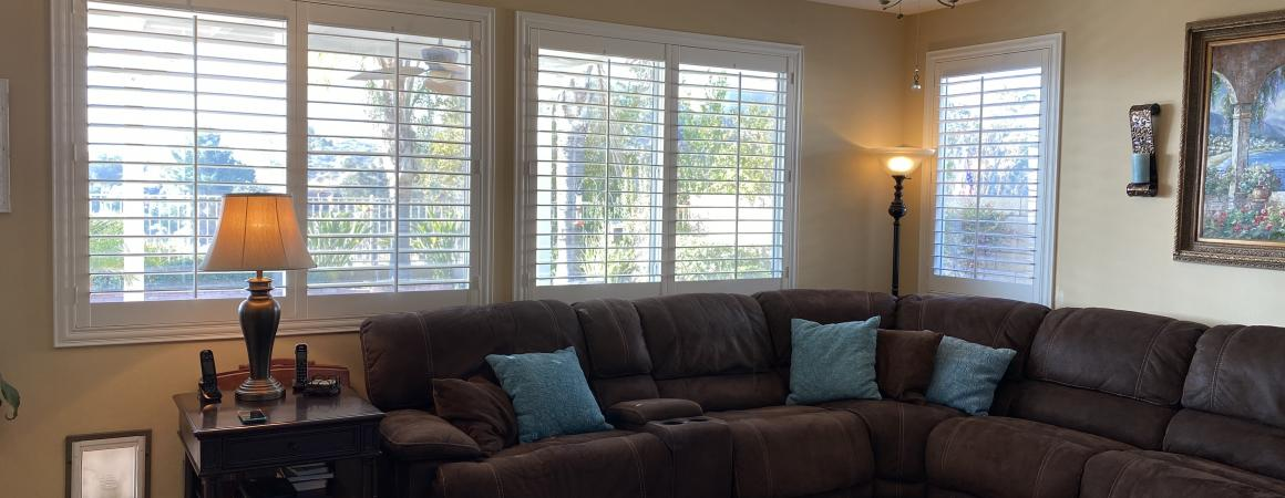 Shutters with deco Z-frames