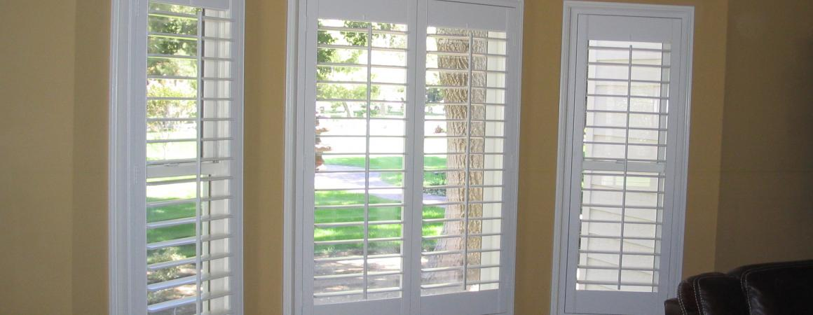Shutters mounted inside existing casings